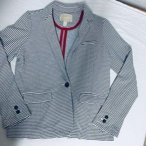 Banana Republic • Knit Striped Blazer